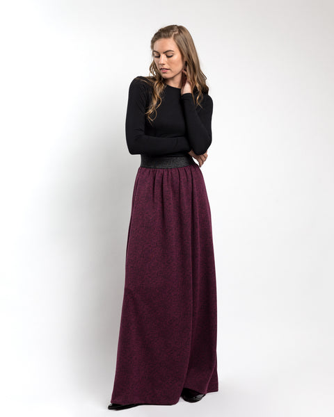 Sweater Maxi Skirt