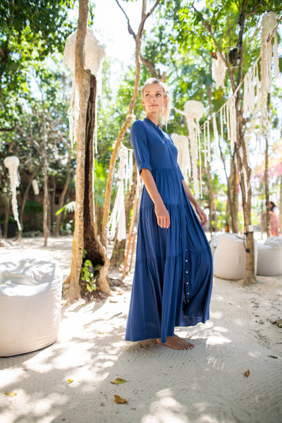 Tiered Maxi Dress- Viscose