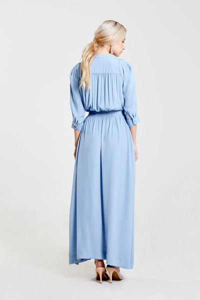 Maxi With Smocked Belt