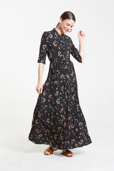 Tiered Maxi Dress- Floral
