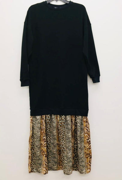 Sweatshirt Maxi Dress
