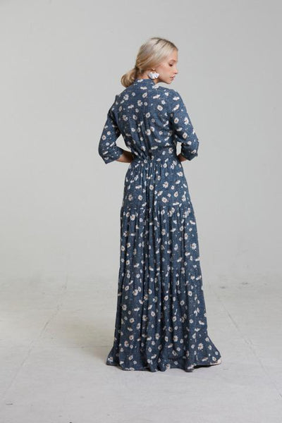 Tiered Maxi Dress -Daisy