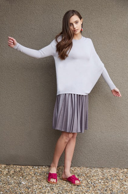 Asymmetric Sleeve Sweater
