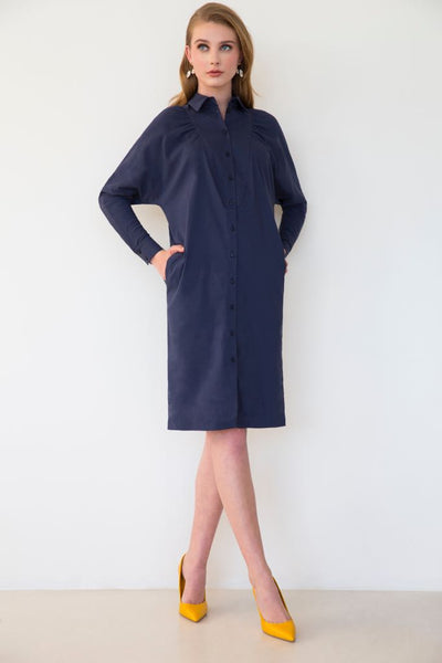 Tux Shirtdress