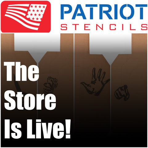The Patriot Stencils Store Is Live!