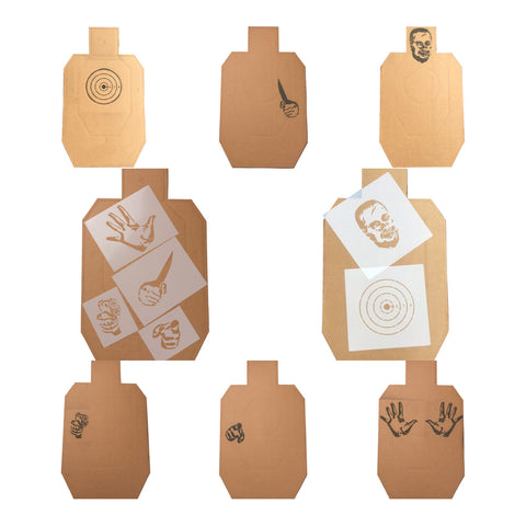 Total Package Target Stencil 8 Pack