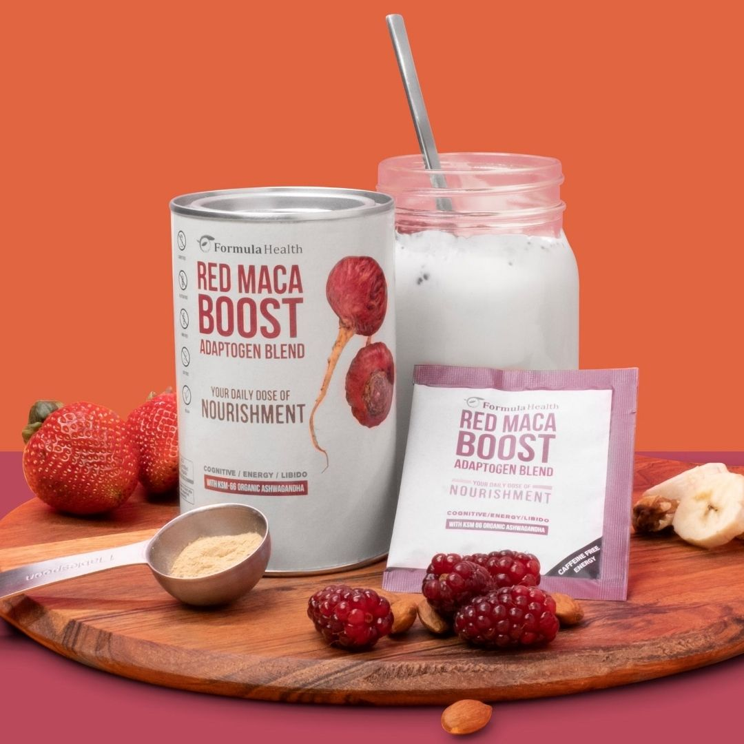 Red Maca Boost - The wind beneath your wings.