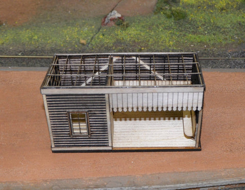 WAGR / NZ-Vogel 5th Class Station - Laser Cut Kit - S scale