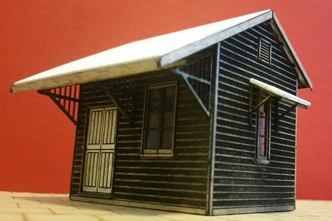 Zanthus Commonwealth Railways Station - HO Scale  and S Scale - Laser Cut Kit