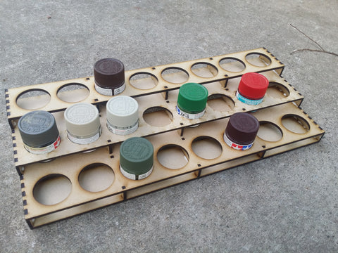 Tamiya 3 Tier Paint stand (8*31=24)