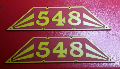WAGR S Class Locomotive Cab No Plates - Laser Engraved