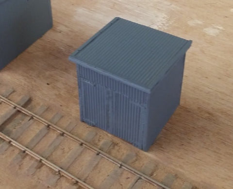 Lineside Gangers Shed - Resin Cast Kit - S Scale