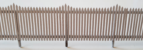 Laser Cut 6ft Station Fencing - S Scale