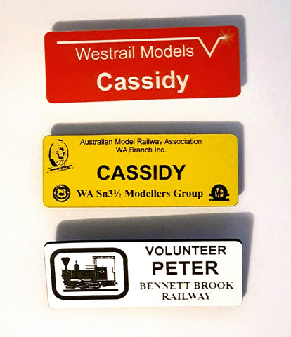 Custom Name Badge