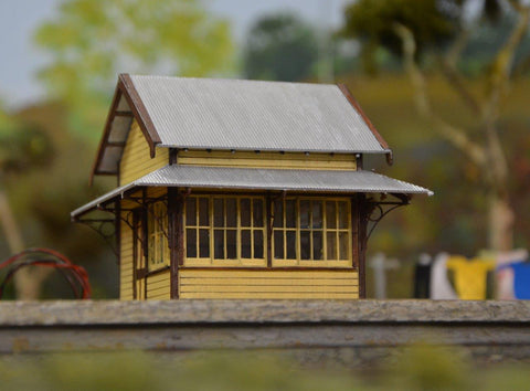 Standard Platform Signal Cabin (SwanView) - Laser Cut - S Scale