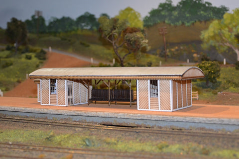 Swan View Station Building - Laser Cut - S scale