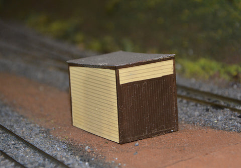 Trackside hut - Resin Cast - S scale