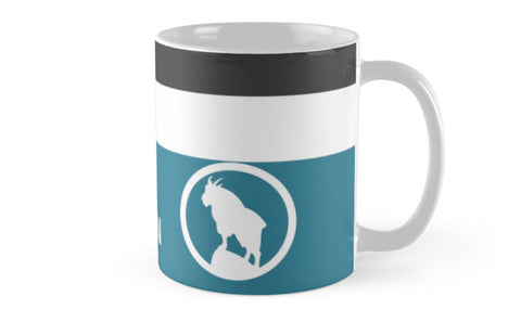 Great Northern Railway 'Big Sky Blue' Mug