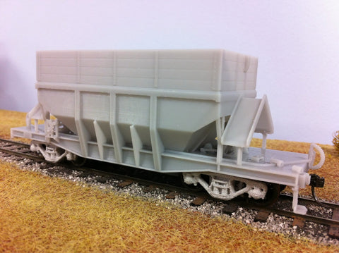 WAGR WMD Hopper Wagon - S Scale - 3D printed