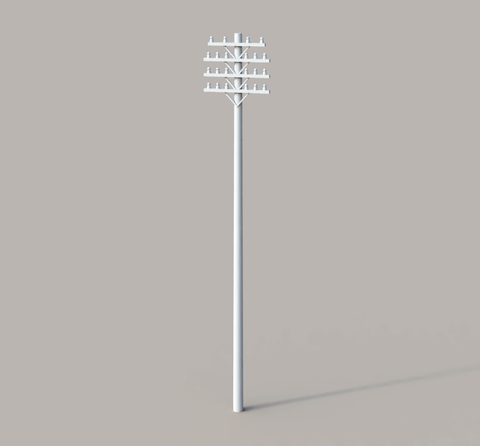 Trackside Telegraph Pole - 3D Printed - S Scale