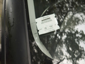 Tikettak Car Windscreen Parking Ticket Holder (5 pack)