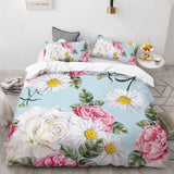 3D HD Print Bedding Set Custom/King/Europe/USA,Duvet Cover Set Queen/King,Quilt/Blanket Cover Set Bedclothes Butterfly in flower