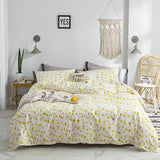 42 Red strawberries BeddingSets 100% cotton Bed Linen DuvetCover BedSheet/fittedsheet Pillowcase/bed Sets queen king size 4pcs