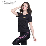 Detector Women's HyperDri Quickly Dry Cool T Shirt Sports Running Fitness Short Sleeve Athletic Top-sports-StyloMylo World