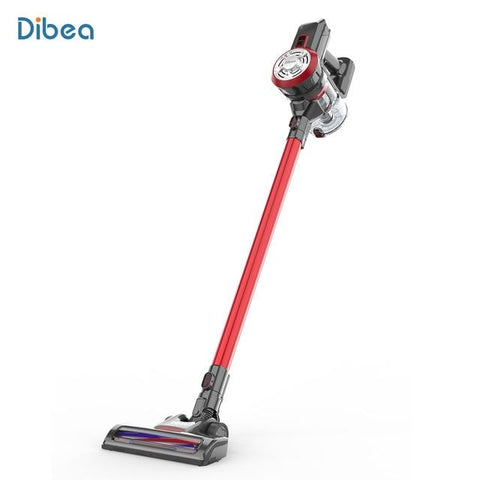 Dibea D18 9000 Pa 2-In-1 Household Vacuum Cleaner Lightweight Cordless Handheld Stick Vacuum Cleaner With LED Lights Brush