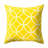 Fashion Polyester Geometric Cushion Yellow Pineapple Pillow Decorative Cushion For Sofa Diy Printed Pillow Seat Chair Cushion