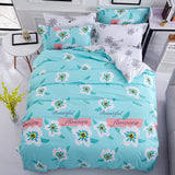 Flowers Printed Bedspreads Twin Full Queen King Size Bedding Sets Bed Sheet Pillowcase Duvet Cover Sets Home Textile Bedcloths-bedsheets-StyloMylo World