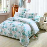 Full Queen Twin 100%Cotton Bed Set Boys Girls Children Green Memory tree Bedding Set 4PCS Bedclothes Duvet Cover Set Pillowcases-Beddings-StyloMylo World