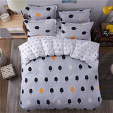 Green sheet pillowcase & duvet cover set New Pastoral Bedding set modern bed linen autumn bedclothes 3 or 4pcs/set kids set-Beddings-StyloMylo World