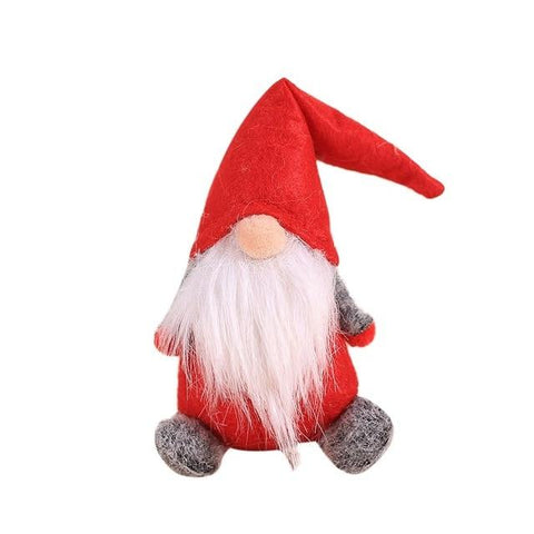 Handmade Swedish Stuffed Toy Santa Doll Gnome Scandinavian Tomte Nordic Nisse Sockerbit Dwarf Elf Home Ornaments Christmas Santa