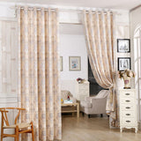 Luxury European style blackout curtains Jacquard cloth curtains for bedroom and living room free shipping-curtain-StyloMylo World