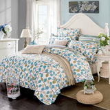 Must Buy ! Bedding sets 6pcs duvet doona quilt fitted cover ned sheet 100% cotton for king queen full twin size bedclothes comforter linens-Beddings-StyloMylo World