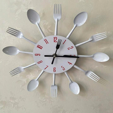 New arrival 2016 promotion wall modern needle clock knife clocks kitchen the decoration-Clocks-StyloMylo World