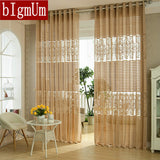 New Arrival Fashion window screening Stripe tulle for curtain luxury sheer curtains for the bedroom living room design curtain-curtain-StyloMylo World