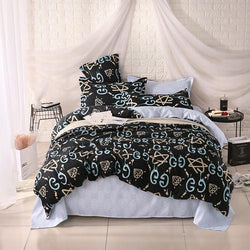 NEW ARRIVAL ! Unihome polyester microfiber Duvet Cover Set 1pc Duvet Cover 1pc Bed Sheet Set 2pcs Pillowcase Full/Queen/King Size Bedding Set-Beddings-StyloMylo World