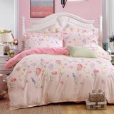 Origami Cranes Bedding Set Cotton Bed Sheet Cozy Duvet Cover Sets Bedspread Queen/Full/Twin Size-Beddings-StyloMylo World