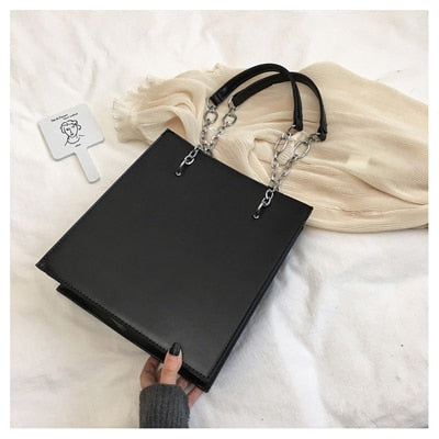 2020 Solid Shoulder Bag 3 layer Women Pleated Bag 13 inch briefcase for ladies Laptop bag soft PU leather Women Office big Tote