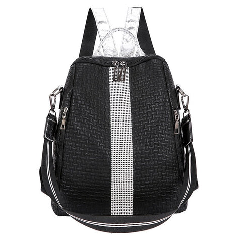 Multifunction Women Backpacks Shoulder Bags Fashion Summer Backpack Leather Women Backpacks Light Lady Large Capacity School Bag