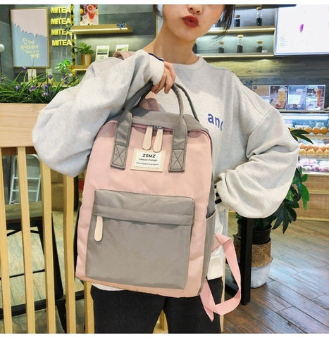 Multifunction  korean women backpack fashion youth style shoulder bag laptop backpack schoolbags for teenager girls boys travel