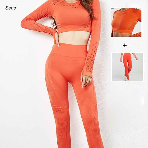 Hot Sale Fitness Set Women Yoga Suit Fitness Clothing Women Gym Clothings Yoga Sport Leggings Gym Clothing Sports Wear For Women