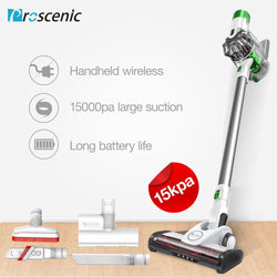 Proscenic P9 2 In 1 Vacuum Cleaner 15000Pa Suction power 2600Ma Li-ion battery with NIDEC Motor for Pet hair Carpet Hard Floor