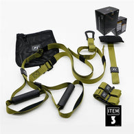 Resistance Bands Fitness Hanging Belt Training Gym Workout Suspension Exercise Pull Rope Stretch Elastic Straps Home Equipment