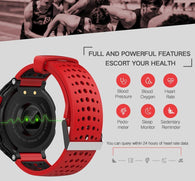 Smartwatch Heart Rate Tracker IP68 Waterproof Ultra-long Standby For IOS Android Phone Smart Watch-StyloMylo World