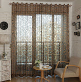Top Finel Geometric Modern Window Sheer Curtain Panels for Living Room the Bedroom Kitchen Blinds Window Treatments Draperies-curtain-StyloMylo World