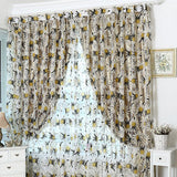 Top Finel HOT Modern Rose Floral Tulle for Window Curtain Sheer Curtains for Living Room the Bedroom Window Screening Panel-curtain-StyloMylo World