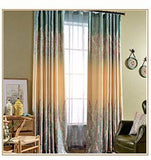 Tropical Rain Quality Curtain Fabric Bedroom Factory Direct Sales Curtains For Living Room Cortinas Floral Kitchen-curtain-StyloMylo World